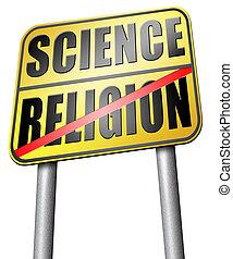 religion, relation,  science