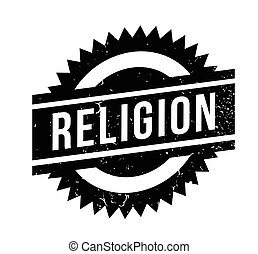 Religion rubber stamp