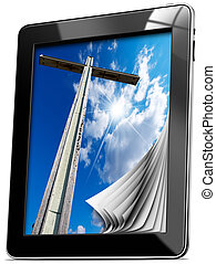 Religion - Tablet computer with Pages
