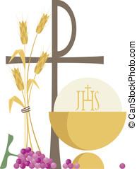 Religione Cristiana - Simboli della religione cristiana /...