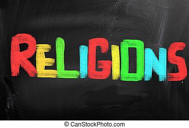 Religions Concept