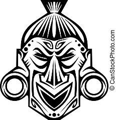 religiosas, máscara