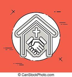 religioso, relación