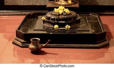 religious candlelit ceremony