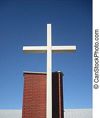 Religious cross.