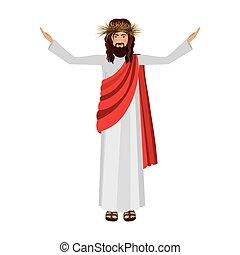 Religious design of jesus christ