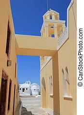 Religious, Oia, Santorini, Greece