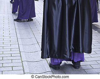 Religious representation in Holy week Spanish tradition