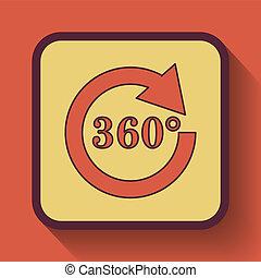 reload, 360, icona