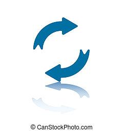Reload Arrow - Reload/Refresh Arrows, Two Opposite...