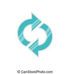 reload arrows symbol icon