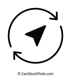 reload glyph icon
