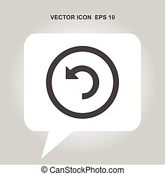 reload vector icon