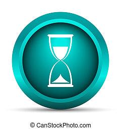 reloj de arena, icono