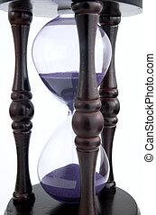 reloj de arena, pasado de moda