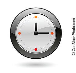 reloj de la oficina