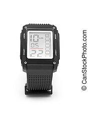 reloj de pulsera, digital