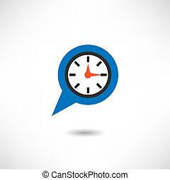 reloj, icono