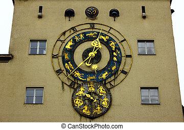 reloj, museo, munich, alemania, deutsches