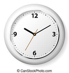 reloj, pared