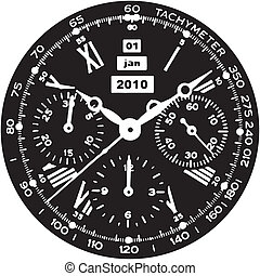reloj, reloj