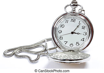 relojde bolsillo, blanco