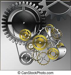 relojes, mecánico