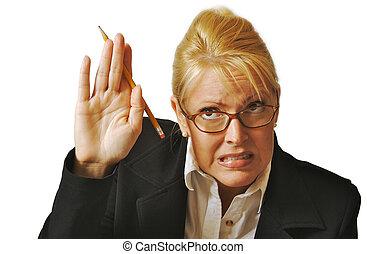 Reluctant Female Student - Female Student Reluctant to Raise...