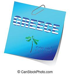 remainder greece travel art vector
