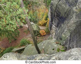 Remains of the rock castle Schauenstein