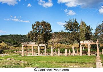 Sanctuary of Artemis - Remains of the Sanctuary of Artemis ...