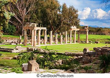 Sanctuary of Artemis - Remains of the Sanctuary of Artemis...