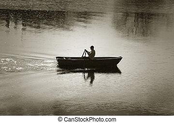 remando-barco
