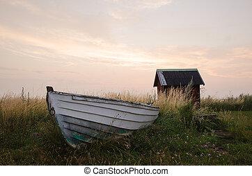 remar, antigas, bote