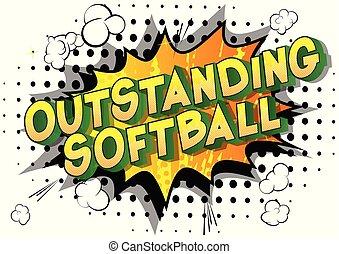 remarquable, softball