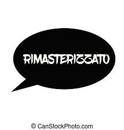 remastered, estampilla, italiano