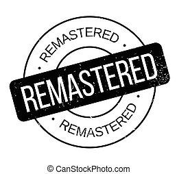 remastered, sello de goma