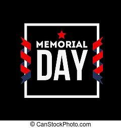 remember., day., commémoratif, lettres, always, nous, ...