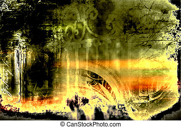 """remember - Background, abstract design- """"REMEMBER"""" series"""