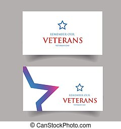 Remember our Veterans Usa design vector