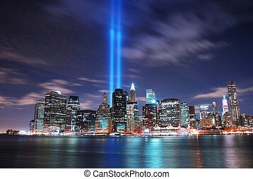 New York City - Remember September 11. New York City...