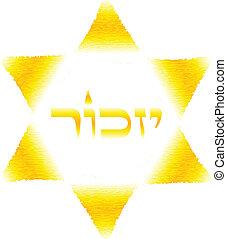 """Remembrance"" - The Holocaust symbol"