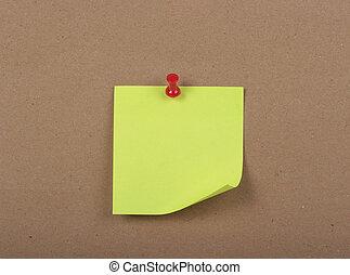 reminder note pad