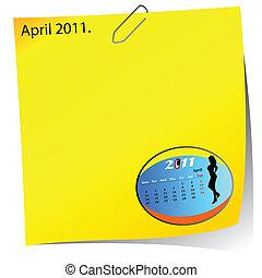 reminder of april 2011