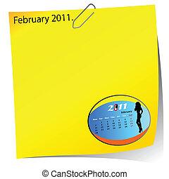 reminder of february 2011