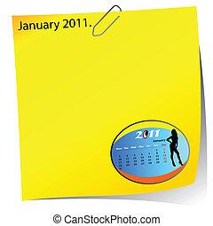 reminder of january 2011