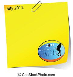 reminder of july 2011