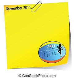 reminder of november 2011