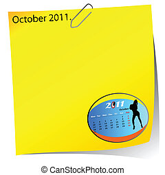 reminder of october 2011