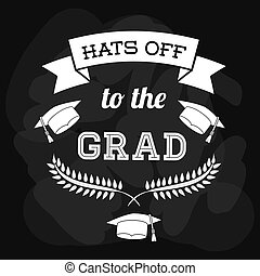 remise de diplomes, conception, icône